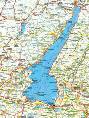 westseite gardasee karte Italien 2013   25.03.13 01.04.13